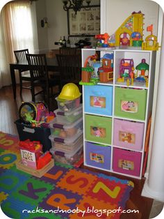 RACKS And Mooby: Organizing The Kids   Toys Edition
