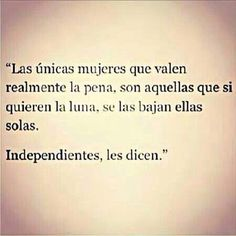 Independent woman ;)