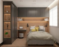 Fitted Bedroom Furniture, Fitted Bedrooms, Home Room Design, Home Interior Design, House Design, Elegant Home Decor, Elegant Homes, House Rooms, Home Goods