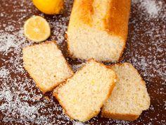 chec-cu-nuca-de-cocos-insiropat-cu-lamaie-6 Fruit Cakes, Sweet Bread, Easy Desserts, Cornbread, Ethnic Recipes, Projects, Food, Millet Bread, Log Projects