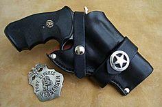 Custom Leather Holsters | Custom Leather Holster For A 3″ Barrel Revolver (HOLSTER4)