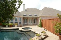 Properties in Frisco with a pool, brought to you by Ebby Halliday, REALTORS from the advanced property search form.