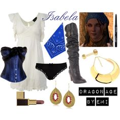 Dragon Age - Isabela, created by emi-watson on Polyvore