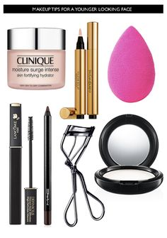 7 Makeup Tips for a Younger Looking Face