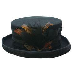 4da9e0f91fc518 Steampunk hat | Black top hat Steampunk Hat, Steampunk Fashion, Black Top  Hat,