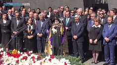 Armenian Genocide Memorial 4/24/14 in Yerevan, Armenia. May God rest the souls of the innocent children, women and men that lost their lives in the Armenian Genocide, Greek Genocide and the Assyrian Genocide during this horrible time in history. Hopefully one day justice will prevail and they will get the recognition around the world that they deserve.
