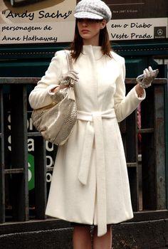 "Anne Hathaway no filme ""O Diabo veste Prada"" I wish."