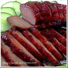 Another Uniquely Chinese Cuisine–Chinese Style Barbecue Pork–Char Siu (蜜汁叉烧)   GUAI SHU SHU
