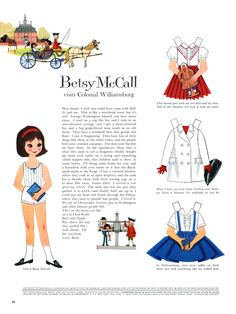 Such a cute Betsy McCall - illustrated by Ginnie Hofmann Ginnie was illustrating well into her 80's! and she is the sweetest person you'd ever want to meet :-) i count myself lucky to know her