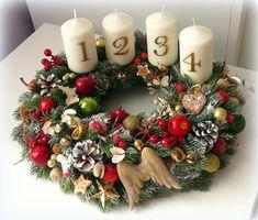 Xmas Crafts, Diy And Crafts, Vence, Christmas Wreaths, Holiday Decor, Home Decor, Decoration Home, Room Decor, Christmas Crafts