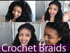 Comment je boucle mes crochet braids - YouTube