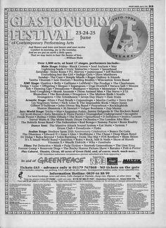 Glastonbury Festival 1995