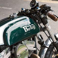Ed's Burton: a most unorthodox Norton cafe racer | Bike EXIF