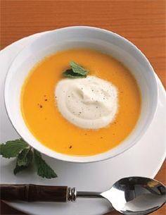 Sopa Fria de Cenoura e Laranja - Sopas e Caldos - Bem Feitinho