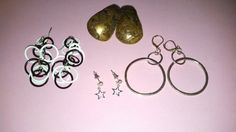 NEWLY LISTED 4 Pairs Pierced Earrings for Wear by MICSJEWELSGALORE