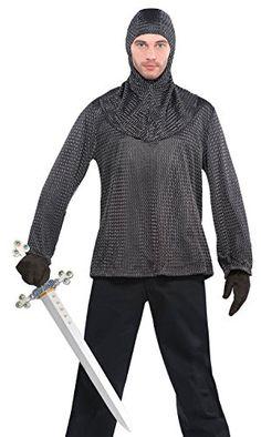Chain Mail Tunic and Hood Costume - Standard - Chest Size... https://smile.amazon.com/dp/B00QQQWCJ4/ref=cm_sw_r_pi_dp_x_hO9hybRSBEPVM