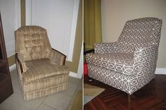 How to Make a Slipcover - Remodelaholic