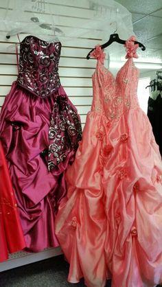 Quinceñera dresses ar Bluebonnet Boutique / Bridal in Somerset Texas