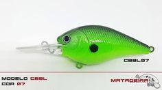 Isca Matadeira modelo cbbl07 #cbbl #cbbl07 #matadeira #fishing #blackbass #traíra #bigbass #bassmonster