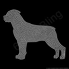 A personal favorite from my Etsy shop https://www.etsy.com/listing/191884585/rhinestone-iron-on-transfer-rottweiler