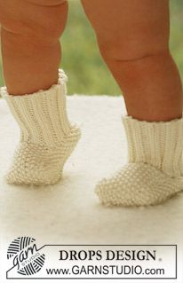 "Miss Mossy Socks - DROPS socks in moss st in ""Merino Extra Fine"". - Free pattern by DROPS Design"