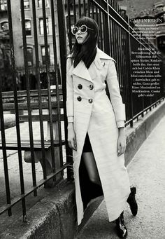 """New York Style"" Egle Tvirbutaite for ELLE Germany August 2015"