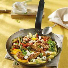 Gyrospfanne mit Schafskäse Rezepte | Weight Watchers
