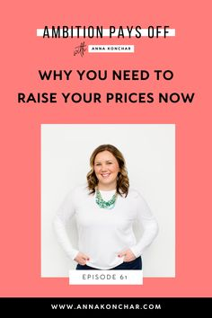 Find out why you should raise your prices instead of just taking on more clients and how to confidently increase your rates as a freelancer or online service provider. Business Coaching, Business Tips, Online Business, Small Business Help, Success Coach, Hustle, Raising, Entrepreneur, How To Make Money