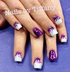 Acrylic nails by Tiffany