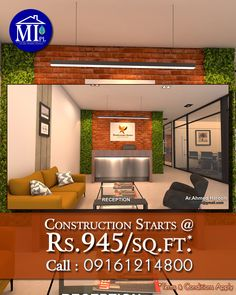 Are You planning for the construction of your Office Building? We are here to help you with innovative sustainable designs and build ideas. Our Construction Packages start at Rs. 945.0/sq.ft. (Terms & Conditions apply) and come with Five Years of Water-Proofing and Anti-Termite Warranty. If you want to go for new construction or even the renovation for your Office, call one of the best Sustainable Building Designers in your neighbourhood. Call us.