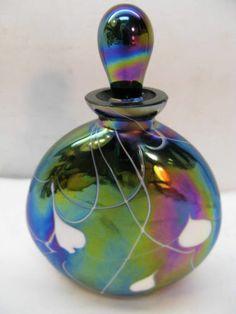 fenton art glass perfume bottles | eBay