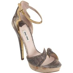 Miu Miu $795  A little too high for me and definitely out of my price range but so beautiful!