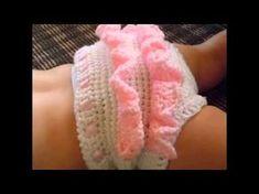 Cubre Pañal de 6 a 9 meses Crochet - YouTube