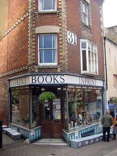 Favorite store in my favorite town in all of England. Inprint Books, Stroud, GLoucestershire.