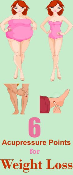 Crazyhale: Top 6 Acupressure Points for Weight Loss