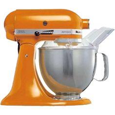 In Orange! | ROBOT KITCHENAID ARTISAN 5KSM150PSETG, Available at NETNBUY.COM
