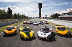 Das McLaren P1 GTR Fahrerprogramm startet in Barcelona