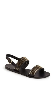 Ancient Greek Sandals 'Dinami' Studded Double Band Sandal (Women) available at #Nordstrom