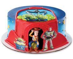 Toy Story Woody, Buzz & Aliens DecoSet® Cake Topper