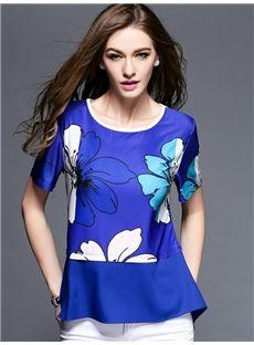 ヨーロッパ2015夏新しい レディースファッション着痩せ気質Tシャツ