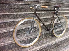 Custom bike made by Bicicle TeMe / Timisoara / Romania - client Stefan Lazar - Batavus