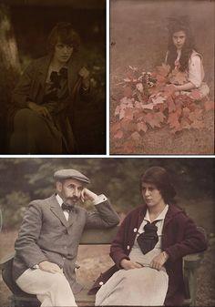 Beautiful color autochrome portraits by Alfred Stieglitz 1910-15