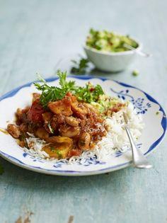 Sweet potato & white bean chilli | Jamie Oliver