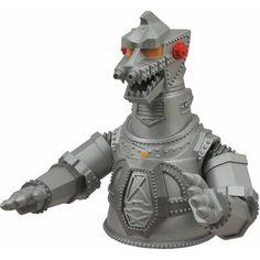 0da7307c34e Diamond Select Toys Godzilla Mechagodzilla Vinyl Bust Bank Craft Storage