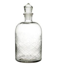 H&M Glass Carafe $14.95- for the bar cart enthusiast or party hostess