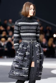 Chanel Autumn-Winter 2013 Model: Pauline Hoarau