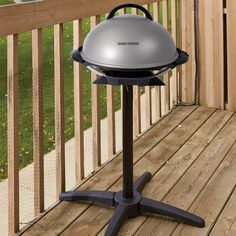 George Foreman Grill Indoor/Outdoor Electric Grill