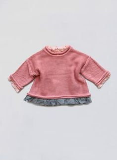 Vierra Rose Ines Sweater in New York Pink