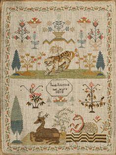 """Sarah Johnson/her work 1818,"""