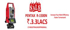 We are Industrial shoppingmall selling Construction Equipments,Safety,Survey , Testing,Weighing Scale,Measuring Equipments,Scientific Instruments And  Providing Calibration Services in Andhrapradesh And Telangana.  We are offering Great discounts on pentax Total station items.